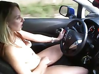 ENF Strips and Drives Naked