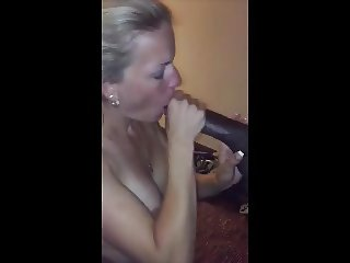 Married Wife Fuck BBC In Front Hubby