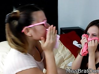 Taboo Panty Play Dirty Knickers Sniffing