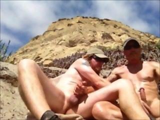 nude beach masturbating