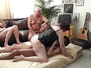 Bigcock bullriding and facesucking with horny dutch milf