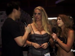 PornhubTV Karen Fisher Interview at 2015 AVN Awards