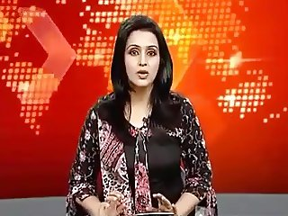 Pakistani News caster slip of tongue