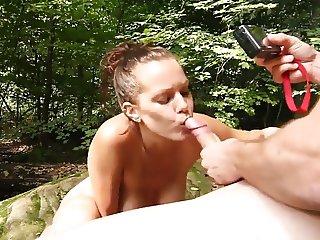 Bulgaria blowjob in forest near varna