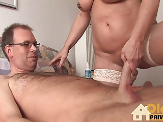 Woman doctor blows the hottest