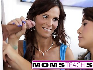 Mom and NOT her daughter fuck monster cock