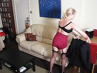Great gams and a great girdle!