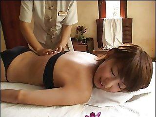 MARIKO in Phuket - Black Bikini Oil Massage (Non-Nude)