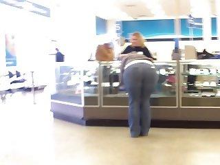 MILF Phat Ass In Jeans At Ross!! DAMN