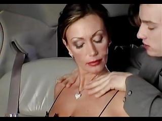 Sexy Big Breast Mature Fuck In Limousine