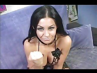 sissy cum joi femdom pov humiliation
