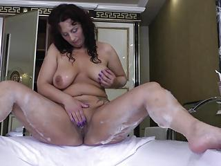 Mature sex bomb mother and wife with thirsty vagina