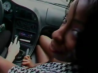 Ebony Milf in Car and House