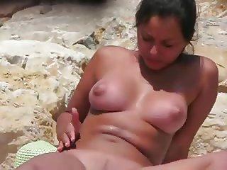 Nudist beach sexy girl