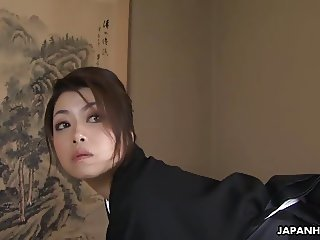 Sayuri has a fuck and a forbidden sex session