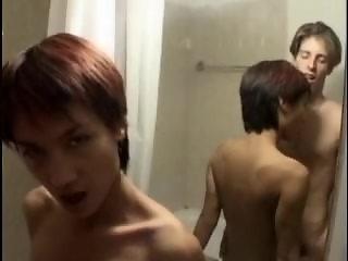 Erica from 1fuckdate.com - Petite asian fucked in bathroom