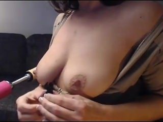 Dutch MILF From SEXDATEMILF.COM Webcam Cumming Hard