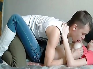 real amateur couple first homemade
