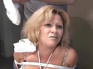 cleo housewife gagged bondage