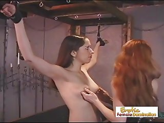 Slave Girls Get Punished For Acting Like Mistresses
