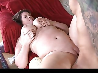 Big Thick MILF Enjoying Young Cock
