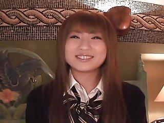 Japanese school gal 024. Riri 1of4