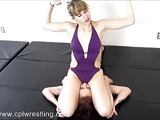CPL-CK-004 Schoolgirl Pin Riding Pleasures  Exclusive Video