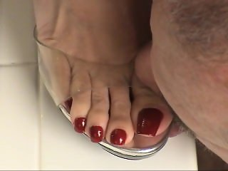 Ms christina long toenail tongue torture