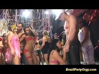 brazil carneval groupsex dance party