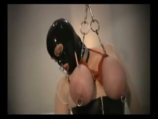 Heavily pierced bbw fetish slave 1