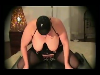 HEAVILY PIERCED BBW FETISH SLAVE 2