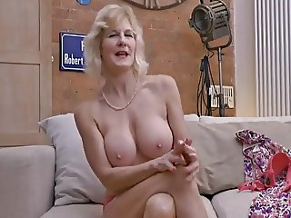 (50s) Mature does interview
