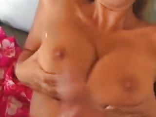 Carol Goldnerova Gets Jizz Over Her Tits