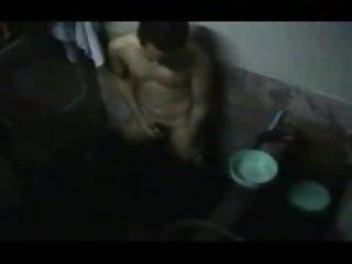 Caught Shower Wank