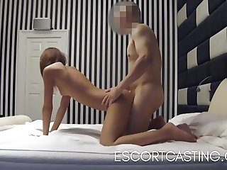 Skinny Teen Caught Escorting On Hidden Camera In Hotel