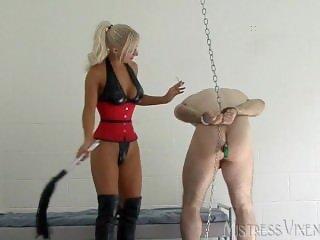 Mistress Vixen and very Lucky slave 2/21/16