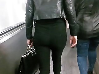 Tight jeans slut subway