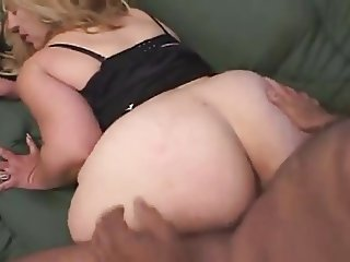 Huge BBW Milf gets fucked by neighbour.