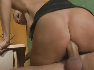 Busty hungarian teacher Winnie (Szilvia) fucked in classroom