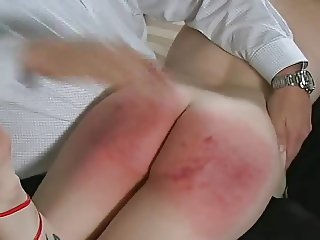 Fashion Model Gets Spanked to Tears