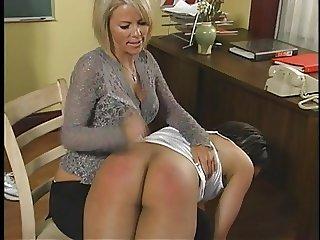 spanking in american school