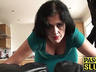 Mature Montse Swinger enjoys getting drilled mercilessly