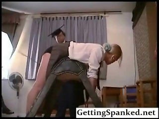 Spanking Girl In Extreme Fetish Porn
