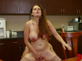 Allison Moore Busty Milf At Work