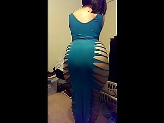 Pakistani Chick Twerks In Revealing Dress