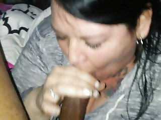 cheating wife sneaked out to suck BBC