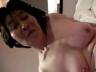 Amateur Mature Asian toying with Hubby