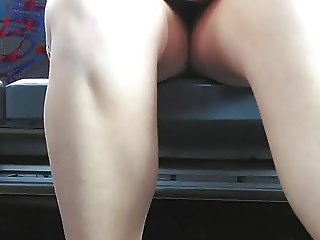 Legs in the bus