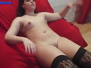 Dancing MILF shows BJ, fingering and rough sex
