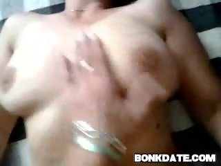 Busty MILF gets fucked and covered with sperm